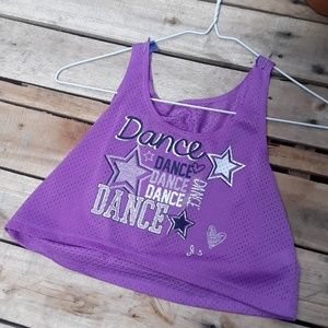 """Adorable Jersey Style """"Dance"""" Top"""